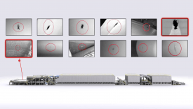 Integrated web inspection and monitoring at a paper machine video still image