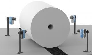 Paper roll ovality Procemex machine vision