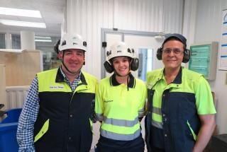Barcelona Cartonboard personnel happy with Procemex web monitoring and inspection
