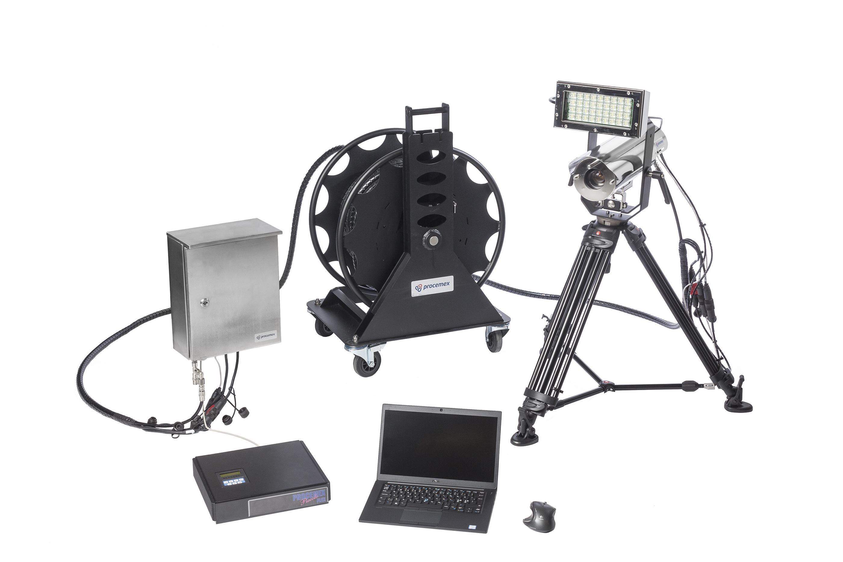 Field accessories set for paper mill web inspection
