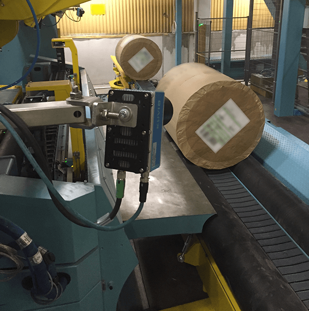 Procemex machine vision roll header installation analysis